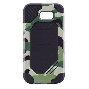 TPU+PC чехол MOTOMO (Military) для Samsung A720 Galaxy A7 (2017) Зеленый / Камуфляж
