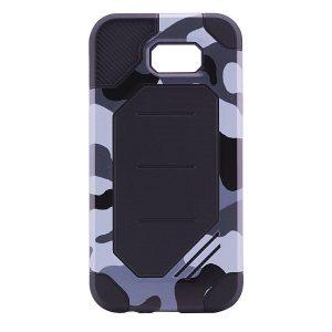 TPU+PC чехол MOTOMO (Military) для Samsung Galaxy A7 2017 (A720) Серый / Камуфляж