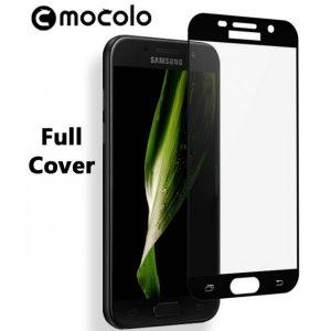 Защитное стекло 2.5D (3D) Mocolo Full Cover на весь экран для Samsung Galaxy A7 2017 (A720) – Black