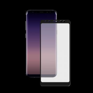 Защитное стекло 3D CP+ Full Glue (на весь экран) для Samsung Galaxy A8 (2018) Black
