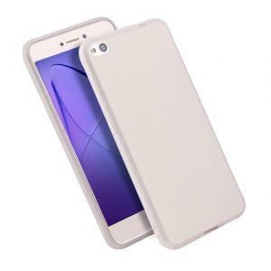 Матовый силиконовый TPU чехол для Xiaomi Redmi 5A / Redmi Go – Белый