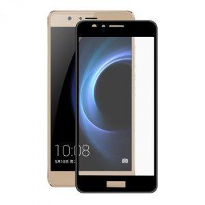 Защитное стекло 2.5D (3D) Full Cover на весь экран для Huawei Honor 8 – Black
