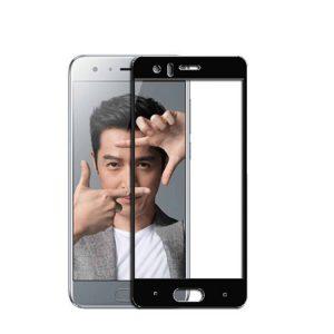 Защитное стекло 2.5D (3D) Full Cover на весь экран для Huawei Honor 9 — Black