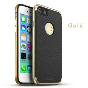 Фирменный чехол бампер iPaky TPU+ PC для Iphone 7 / 8 (Gold)