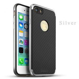 Фирменный чехол бампер iPaky TPU+PC для Iphone 7 / 8 (Silver)