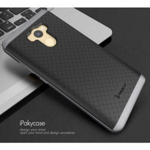 Фирменный чехол iPaky TPU + PC  для Xiaomi Redmi 4 – Черно-серый