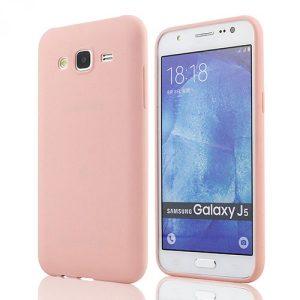 Силиконовый чехол для Samsung J510F Galaxy J5 (2016) Розовый