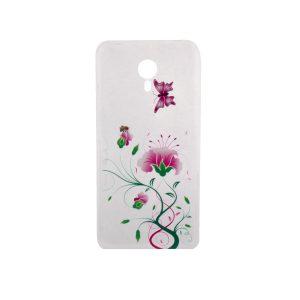 TPU чехол Cute Print для Meizu M3 Note (Flowers and Butterfly)
