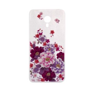 TPU чехол Cute Print для Meizu M3 Note (Flowers)