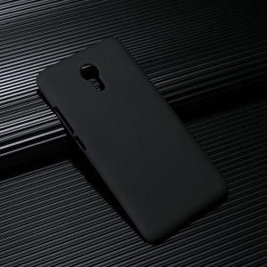 Защитный пластиковый  матовый чехол для Meizu M3/M3 mini/M3s – черный