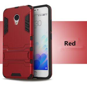 Ударопрочный чехол Transformer с подставкой для Meizu Pro 6 (Red)