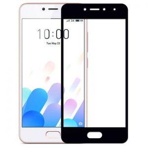 Защитное стекло 2.5D (3D) Full Cover на весь экран для Meizu M5c – Black