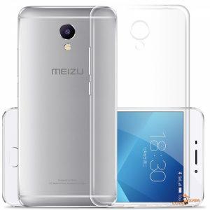 Прозрачный силиконовый TPU чехол для Meizu M5 Note