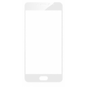 Защитное стекло 2.5D CP+ на весь экран (цветное) для Meizu M6 (White)