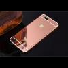 Металлический бампер с акриловой вставкой с зеркальным покрытием для Xiaomi Mi 5X / Mi A1 (Pink)