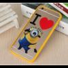 Пластиковый чехол с миньоном  для Iphone 6 / 6s