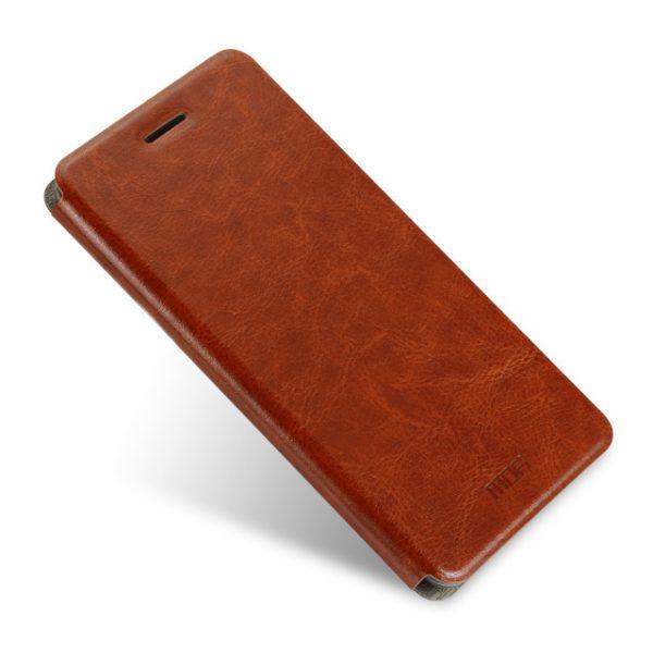 Чехол – книжка Mofi Rui Series для Xiaomi Redmi 4 Brown (Коричневый)