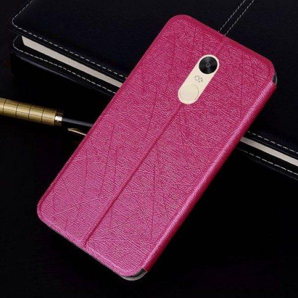 Чехол-книжка для Xiaomi Redmi Note 4X / Note 4 (SD) Розовый