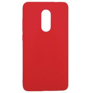 Матовый силиконовый TPU чехол для Xiaomi Redmi Note 4x / Note 4 (Snapdragon) – Красный