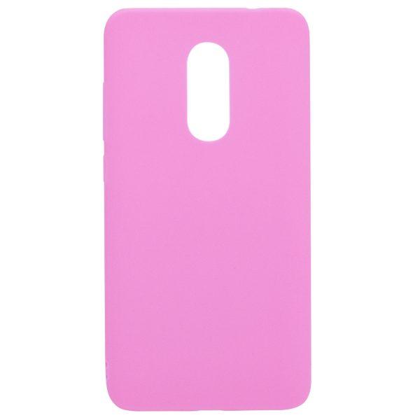 Силиконовый чехол для Xiaomi Redmi Note 4X / Note 4 (SD) Розовый