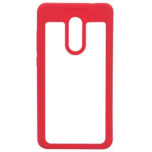 Силиконовый чехол Auto Focus с окантовкой для Xiaomi Redmi Note 4x / Note 4 (Snapdragon) Красный