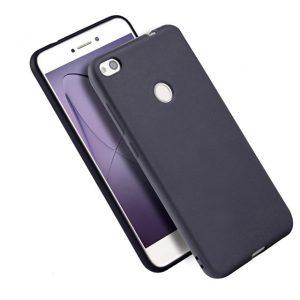 Матовый силиконовый TPU чехол для Xiaomi Redmi Note 5A Prime / Redmi Y1 (Черный)