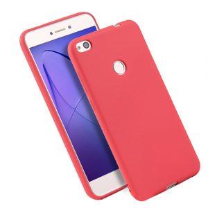 Матовый силиконовый TPU чехол для Xiaomi Redmi Note 5A Prime / Redmi Y1 (Красный)