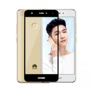 Защитное стекло 2.5D (3D) Full Cover на весь экран для Huawei Nova – Black