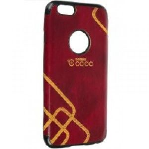 Чехол накладка TPU OCOC для Iphone 6 / 6s (Red)