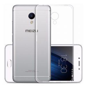 Прозрачный силиконовый TPU чехол для Meizu Pro 6