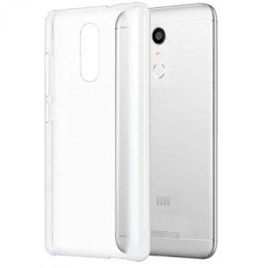 Защитный прозрачный силиконовый чехол для Xiaomi Redmi Note 4