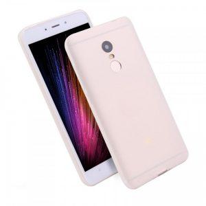 Матовый силиконовый (TPU) чехол для Xiaomi Redmi 5 – Белый