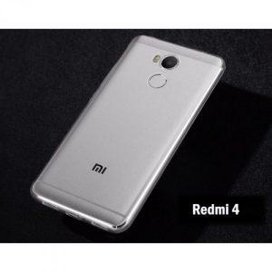 Защитный прозрачный силиконовый чехол для Xiaomi Redmi 4 Pro / 4 Prime
