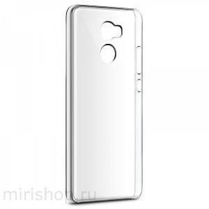 Прозрачный силиконовый TPU чехол для Xiaomi Redmi 4