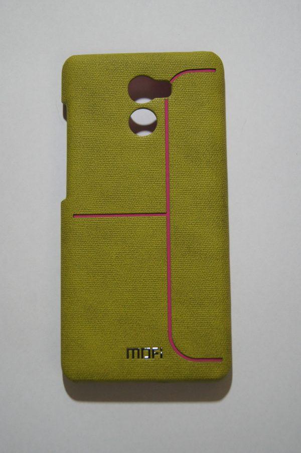 Пластиковая накладка бренда Mofi для Xiaomi Redmi 4 Green