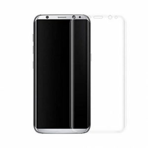 Защитное стекло 3D Full Cover на весь экран для Samsung G955 Galaxy S8 Plus – Clear