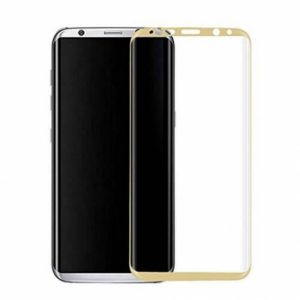 Защитное стекло 3D Full Cover на весь экран для Samsung G955 Galaxy S8 Plus – Gold