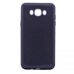 Силиконовый (TPU) чехол – бампер с блестками Shine для Samsung J710F Galaxy J7 (2016) Черный