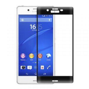 Защитное цветное 3D стекло для Sony Xperia X / Xperia X Dual (F5121/F5122) (Black)