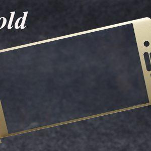 Защитное цветное 3D стекло для Sony Xperia X / Xperia X Dual (F5121/F5122) (Gold)