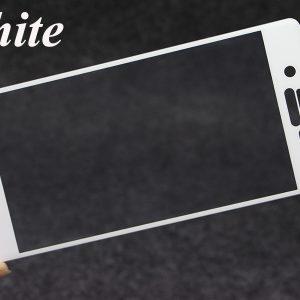 Защитное цветное 3D стекло для Sony Xperia X / Xperia X Dual (F5121/F5122) (White)