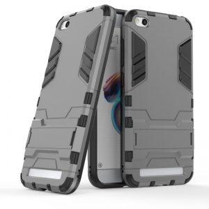 Ударопрочный чехол Transformer с подставкой для Xiaomi Redmi 5A / Redmi Go (Gun Metal)
