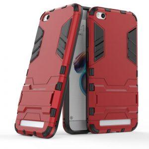 Ударопрочный чехол Transformer с подставкой для Xiaomi Redmi 5A / Redmi Go (Dante Red)