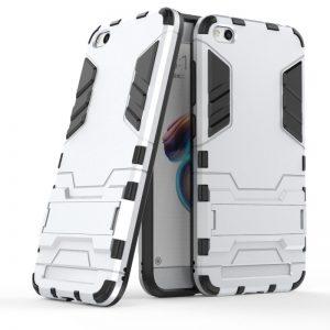 Ударопрочный чехол Transformer с подставкой для Xiaomi Redmi 5A / Redmi Go (Satin Silver)