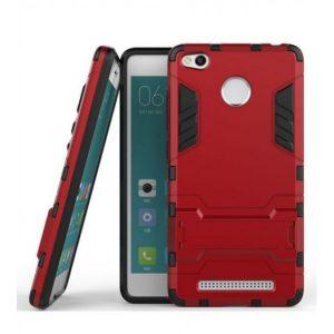 Ударопрочный чехол Transformer с подставкой для Xiaomi Redmi 3 Pro / Redmi 3s (Dante Red)
