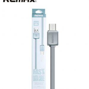 Кабель Micro USB REMAX international Fast series Data Cable RC-008m Grey (серый)  ультрапрочный 1m