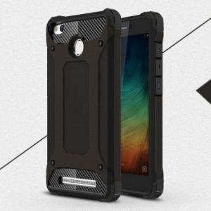 Противоударный бронированный чехол Spigen для Xiaomi Redmi 3s / 3 Pro (Black)