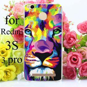 Пластиковый чехол со львом для Xiaomi Redmi 3s / 3 Pro