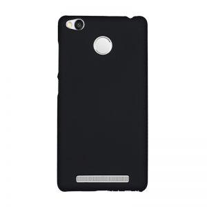Пластиковый матовый чехол для Xiaomi Redmi 3s / 3 Pro Black