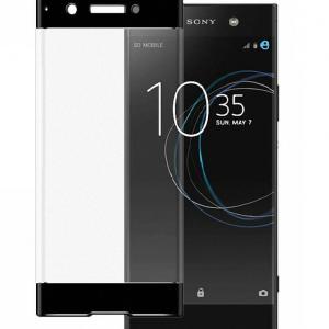 Защитное цветное 3D стекло для Sony Xperia XA1 Plus / XA1 Plus Dual (G3412/G3426) (Black)